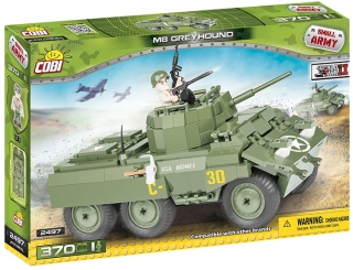 Cobi 2497 SMALL ARMY - II WW M8 Greyhound 370 k, 1 f