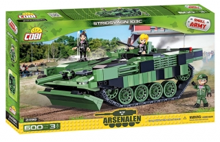 Cobi 2498 Small Army - Stridsvagn 103C, 600 k, 3 f