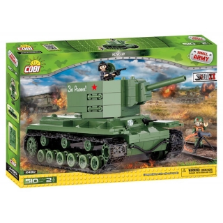 Cobi 2490 SMALL ARMY - KV-2, 510 k, 2 f