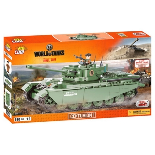 Cobi 3010 World of Tanks Centurion I 610 k, 1 f