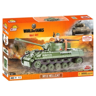 Cobi 3006 World of Tanks M18 Hellcat 465 k, 1 f