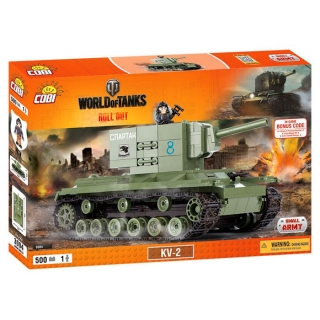 Cobi 3004 World of Tanks KV-2, 500 k, 1 f