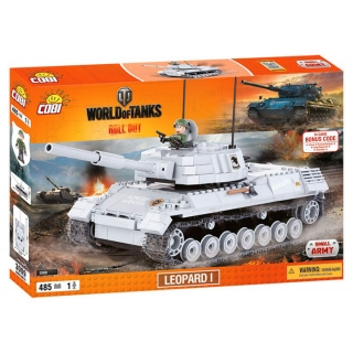 COBI 3009 World of Tanks Leopard I 485 k, 1 f