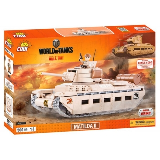 Cobi 3011 World of Tanks Matilda II 500 k, 1 f