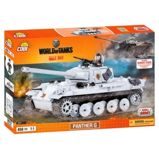 COBI 3012 World of Tanks Panther G 450 k, 1 f