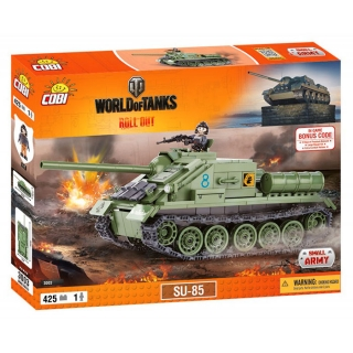 Cobi 3003 World of Tanks SU-85, 425 k, 1 f