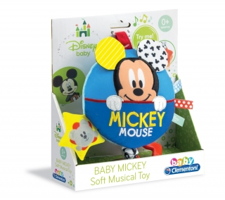 Clementoni - Baby Mickey Soft Musical Toy