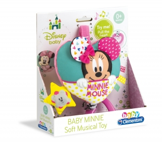 Clementoni - Baby Minnie Soft Musical Toy